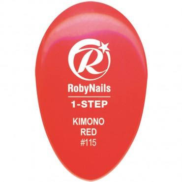 1-Step Kimono Red