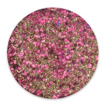 Disco Glitter pink/gold