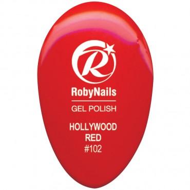 Gel Polish Hollywood Red