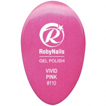 Gel Polish Vivid Pink