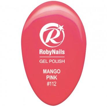 Gel Polish Mango Pink