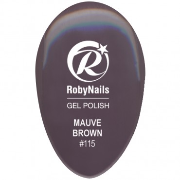 Gel Polish Mauve Brown