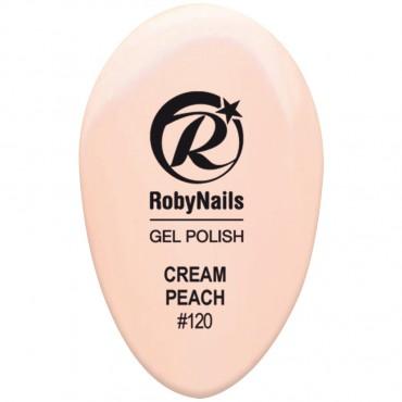 Gel Polish Cream Peach