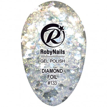 Gel Polish Diamond Foil