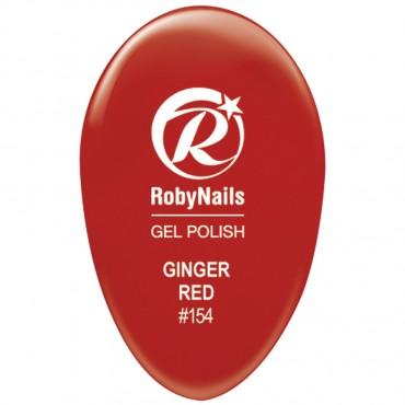 Gel Polish Ginger Red