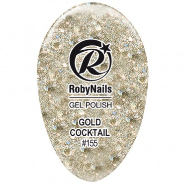 Gel Polish Gold Cocktail