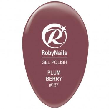 Gel Polish Plum Berry