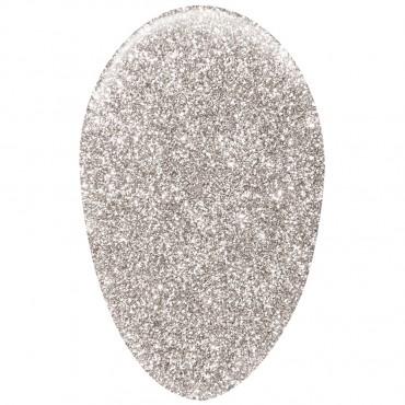 Gel Polish Mega Glitter Silver