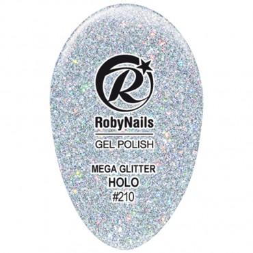 Gel Polish Mega Glitter Holo