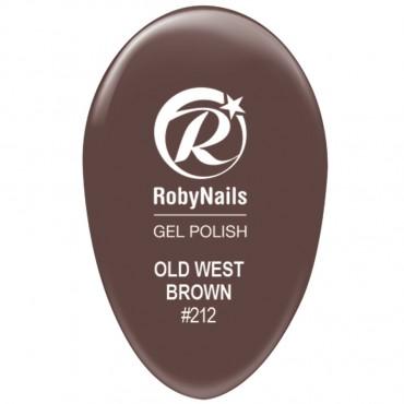 Gel Polish Old West Brown