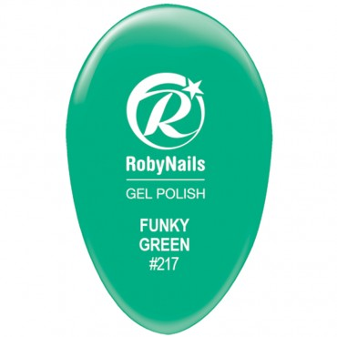 Gel Polish Funky Green