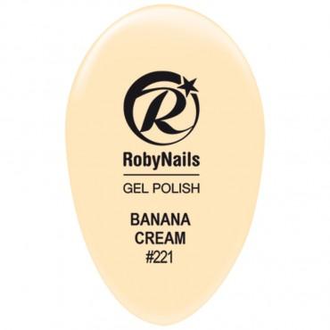 Gel Polish Banana Cream