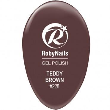 Gel Polish Teddy Brown
