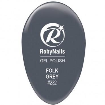 Gel Polish Folk Grey