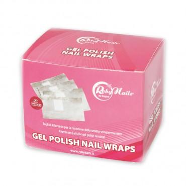 Gel Polish aluminium wraps