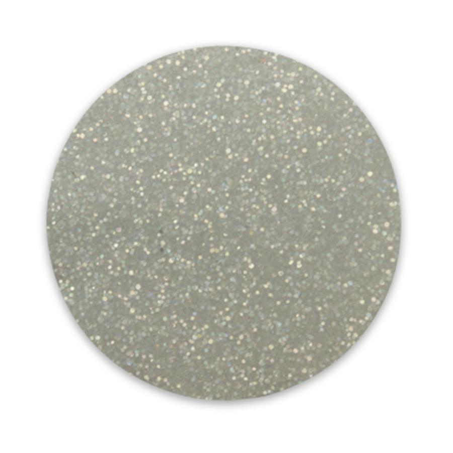 Glitter holographic silver