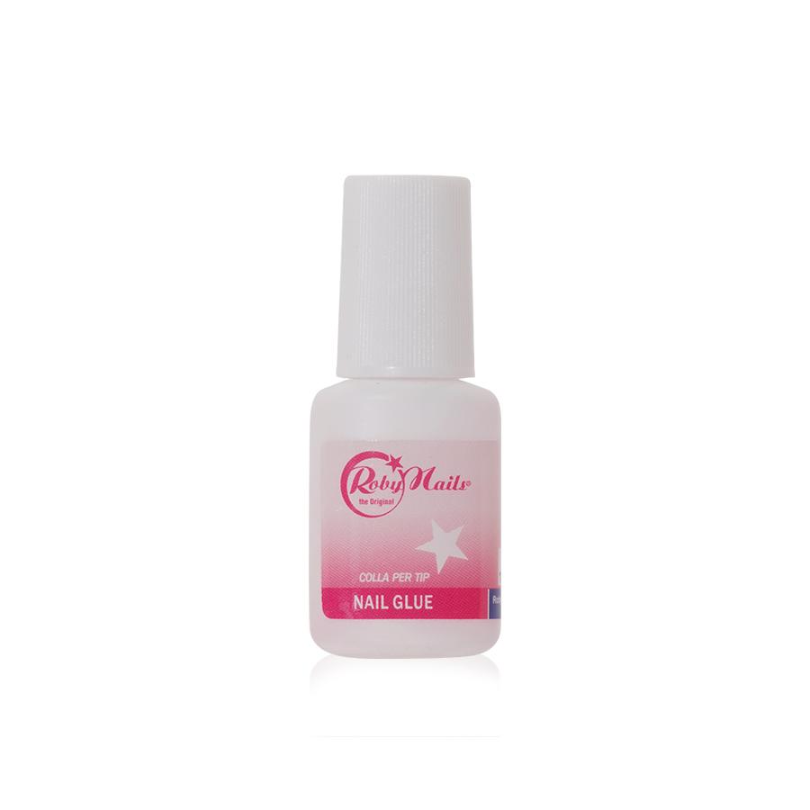 Nail glue with brush - Lepidlo na tipy