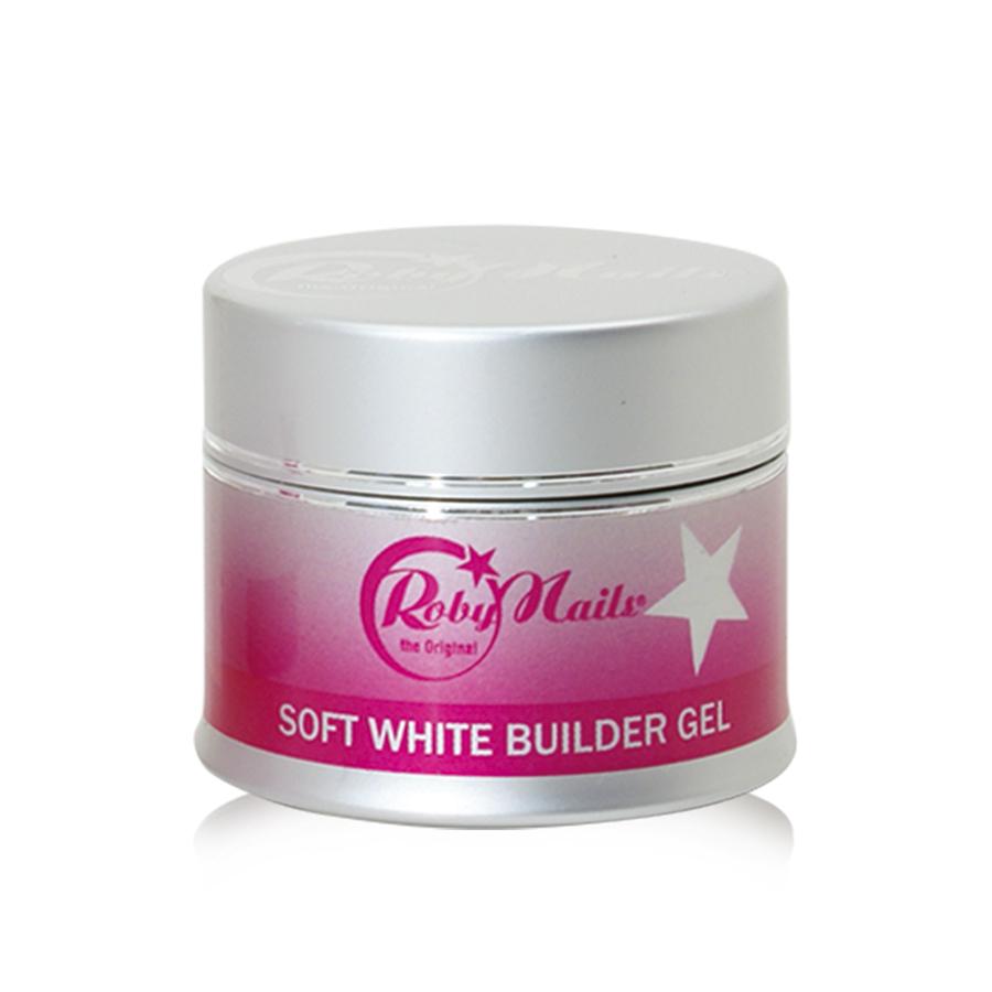 Soft White Builder Gel 15ml